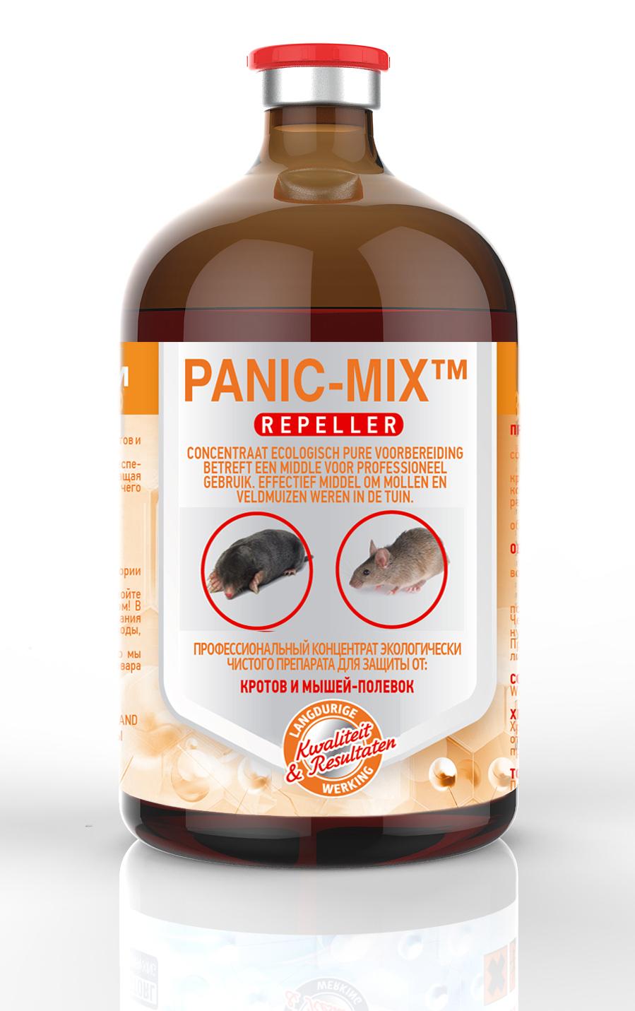средство от кротов PANIK-MIX™ 500мл
